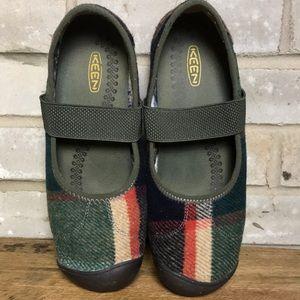 Keen Sienna Wool Mary Jane Shoe